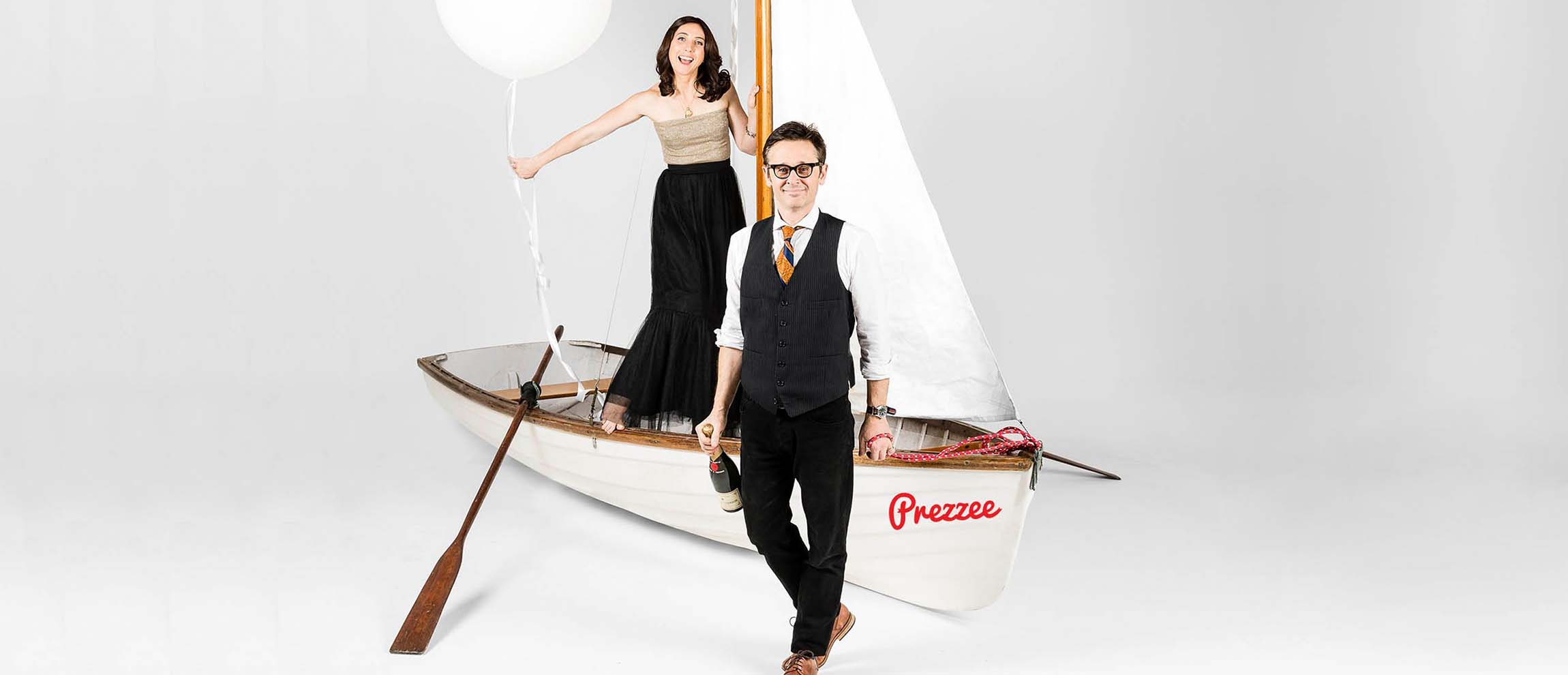 5 minutes with Claire Morris and Matt Hoggett, founders of Prezzee