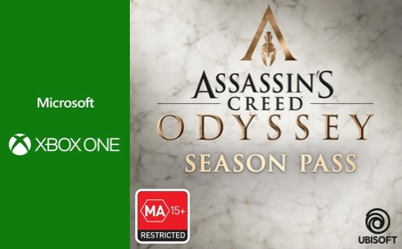 Xbox One Assassins Creed Odyssey: Season Pass gift card