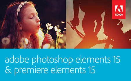 Adobe Photoshop + Premiere Elements 15