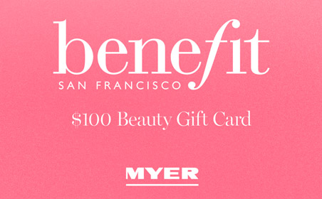 Myer Benefit gift card