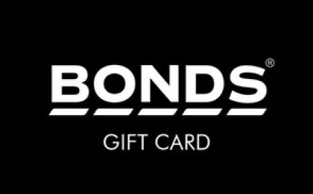 Bonds gift card