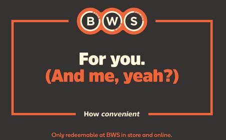 BWS gift card