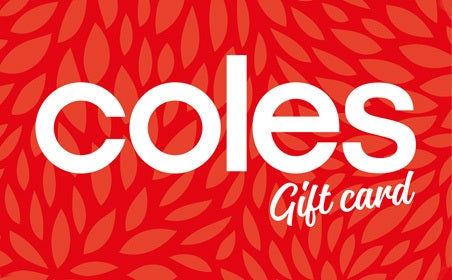 Coles gift card