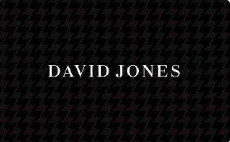 David Jones gift card