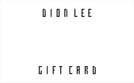 Dion Lee gift card