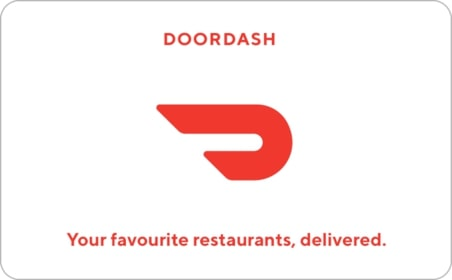 DoorDash gift card