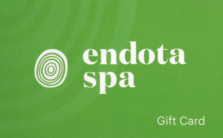 endota spa gift card
