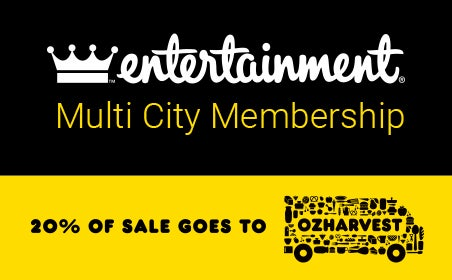 Entertainment Multi City Membership gift card