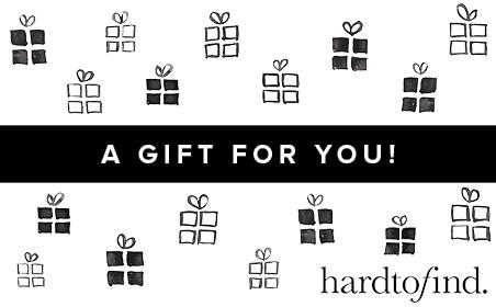 Hardtofind gift card