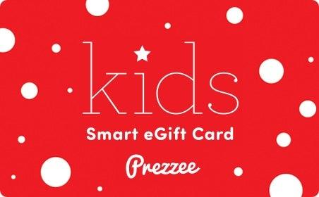 Kids Prezzee gift card