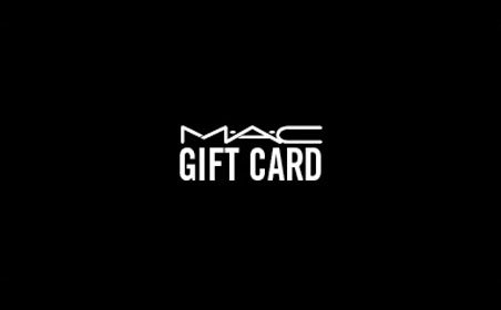 M.A.C gift card