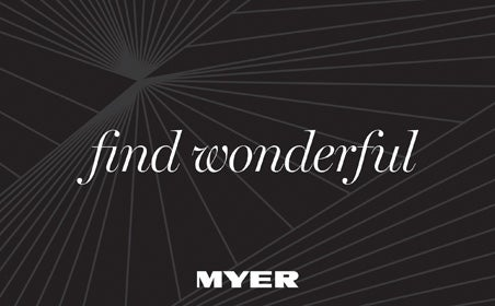 Myer (find wonderful)