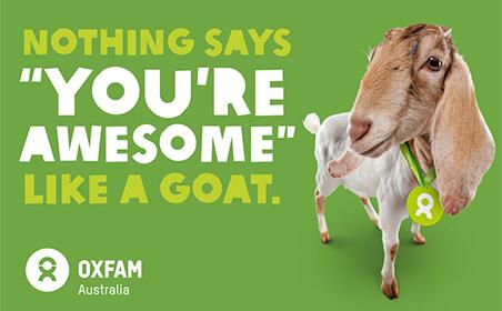 Oxfam (goat)