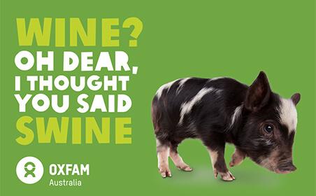 Oxfam (pig)