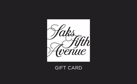 Saks Fifth Avenue (USA) gift card