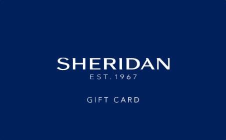Sheridan gift card