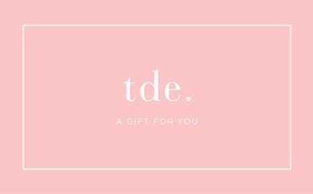 TDE gift card