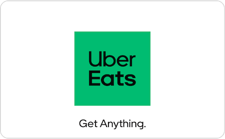 Uber Eats eGift Card gift card