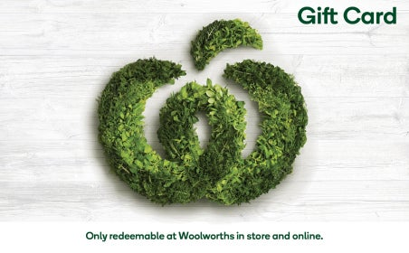 Woolworths eGift Cards gift card