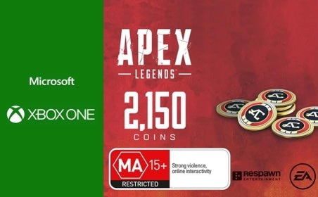 Xbox One APEX Legends: 2150 Coins gift card