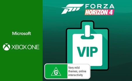 Xbox One Forza Horizon 4 VIP Membership gift card