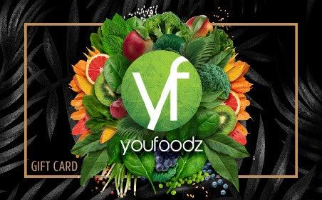 Youfoodz gift card
