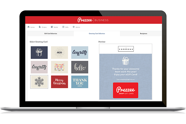 Corporate Gift Cards Online Prezzee Business